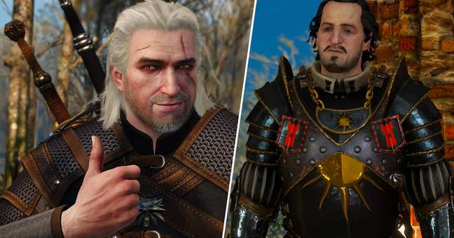 Leaked Witcher Netflix Footage Reveal Dodgy Looking Nilfgaardian Armour