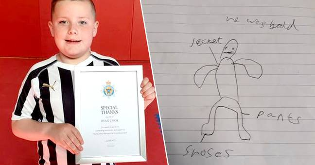 Schoolboy's Drawing Helped Police Find Man 'Trying To Get Into School'