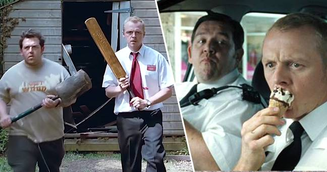 Nick Frost and Simon Pegg film