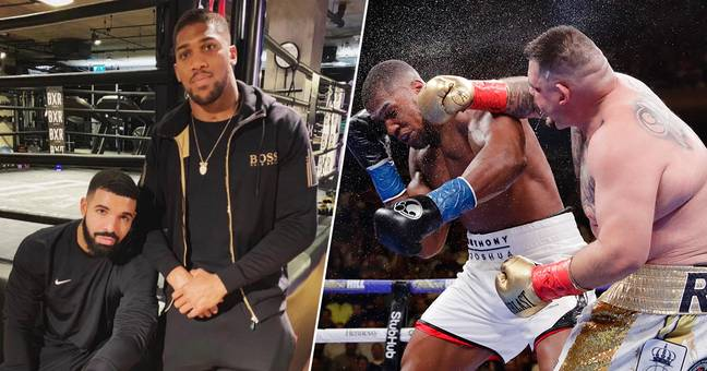 Some Fans Are Blaming Drake For Anthony Joshua's Shock Defeat