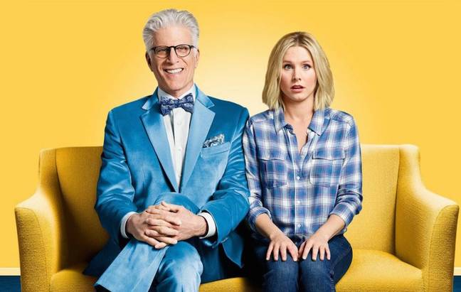 ted danson and kristen bell in the good place