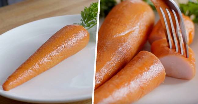 Fast Food Chain Creates The Marrot, A Carrot Made Of Meat Just To Troll Vegans Arby's Marrot