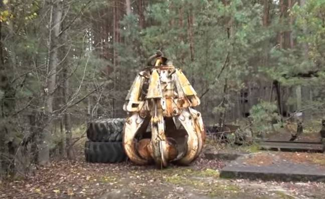 The claw of Chernobyl