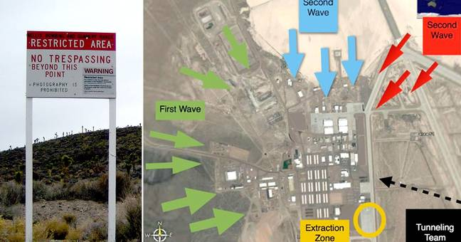 470,000 People Planning To Storm Area 51 Form Outrageous Plan