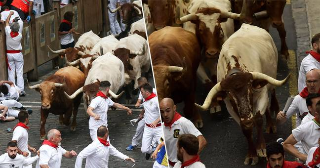 Multiple People Brutally Gored During Running Of The Bulls