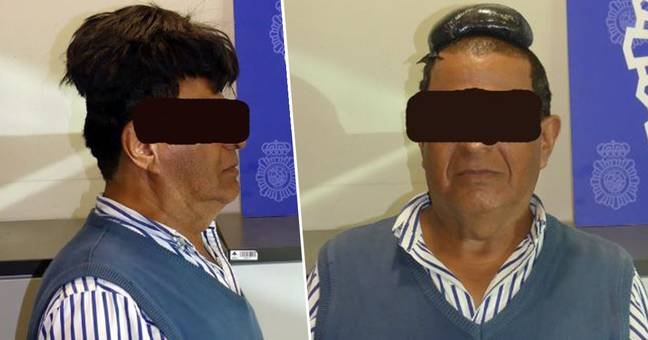 Man Caught Trying To Smuggle Half A Kilo Of Cocaine Under His Wig