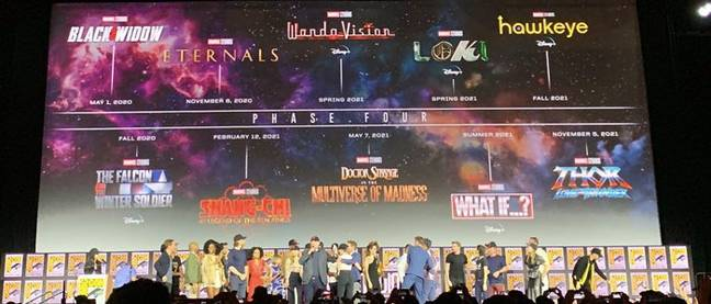 marvel phase 4 lineup