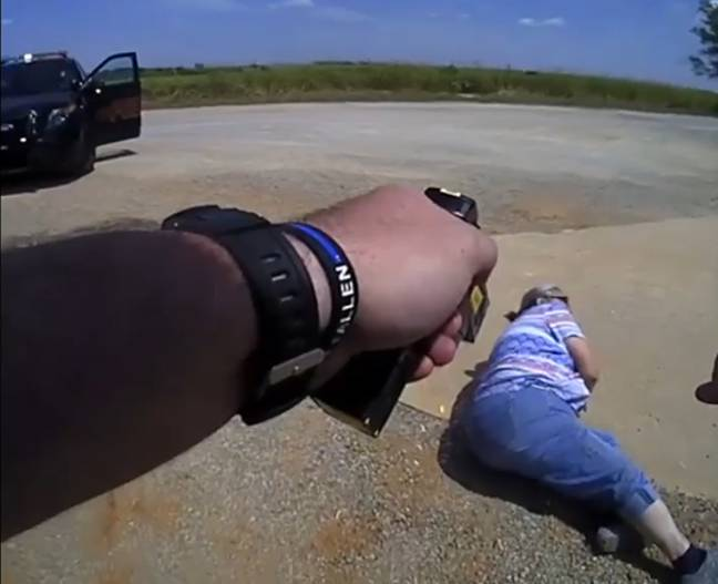 Woman Refuses To Accept $80 Fine And Gets Tasered By Police