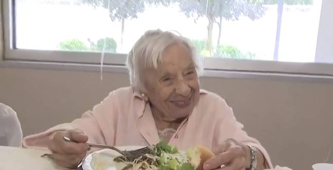 107-year-old louise signore