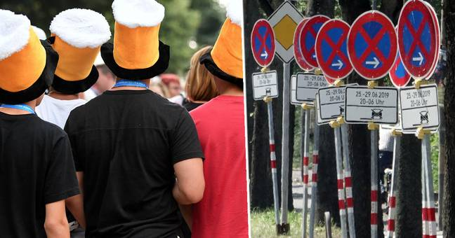 Drunk Teen Found Passionately Kissing Signpost By Police