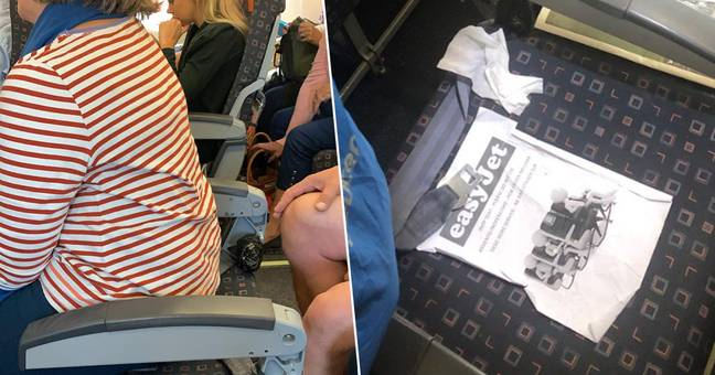 easyJet seats with no backs