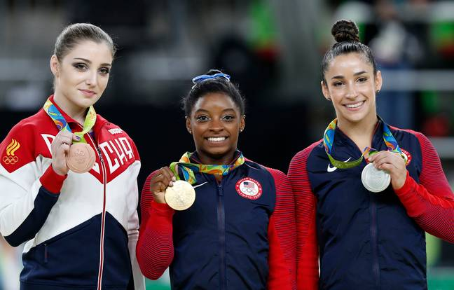 Simone Biles Becomes First Person In History To Complete Double-Double Dismount On Beam