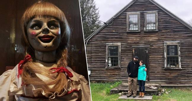The Couple who bought the Conjuring house describe weird events