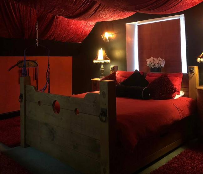 Swingers Mansion With 50 Sex Swings And 'Red Room' Goes On Sale