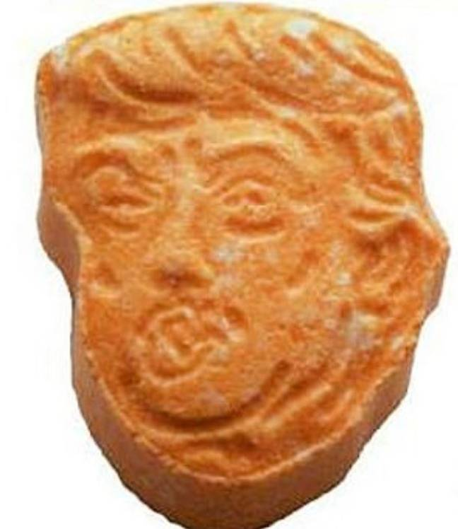 Florida man found in possession of Trump-shaped ecstasy pills