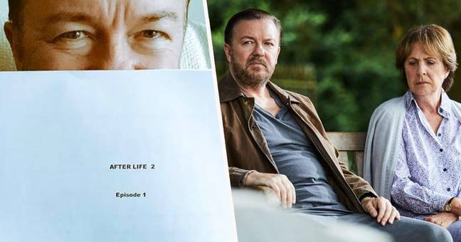 After Life Series Two Starts Filming Next Week Ricky Gervais