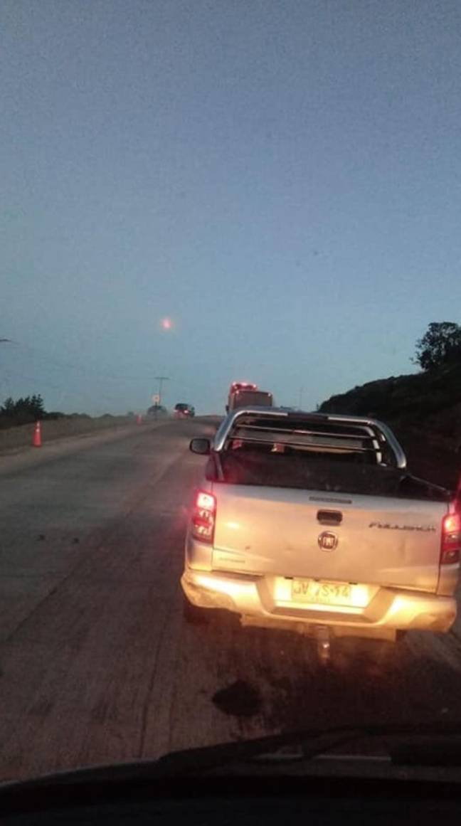 UFO baffles government in Chile