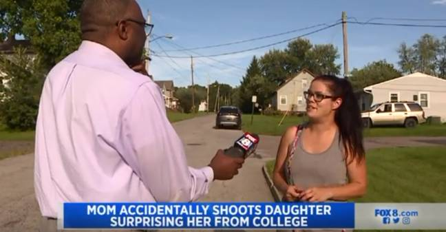 Mom Shoots Daughter Surprising Her From College After Mistaking Her For Intruder