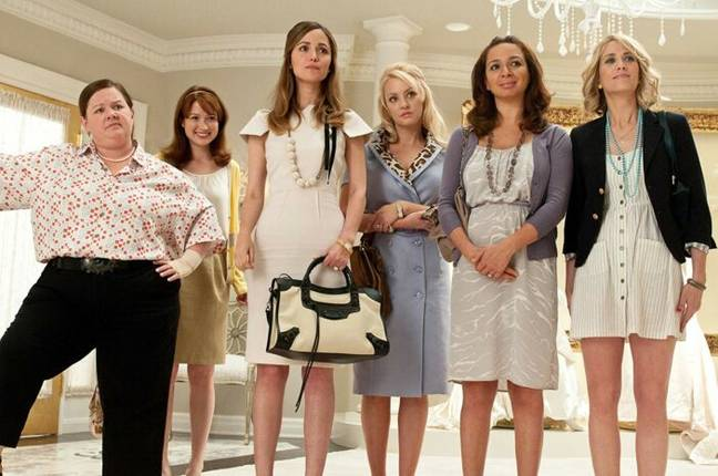 Scene from Bridesmaids (Universal Pictures)