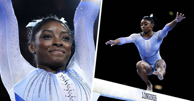 Simone Biles Nails Two Jaw-Dropping Moves That'll Be Named After Her