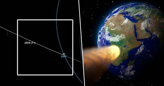 NASA Announce City-Killing Asteroid Could Hit Earth On May 6, 2022