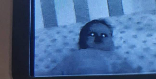 Parents Regret Buying Baby Monitor After Seeing 'Possessed Baby'