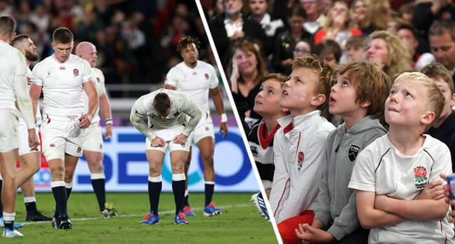 England Have Lost Rugby World Cup Final