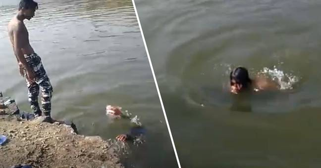 Guy Drowns As Onlookers Film Him Rather Than Helping