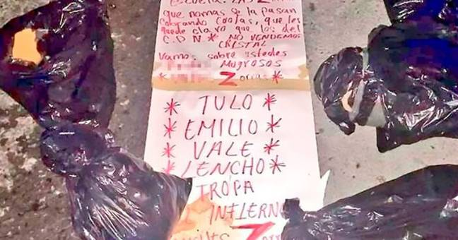 Human Remains Dumped In Plastic Bags Found With Haunting Note In Mexico