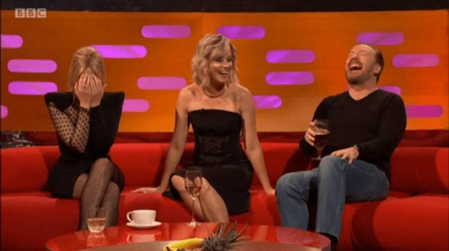 kylie and ricky react to elizabeth banks joke about prince andrew