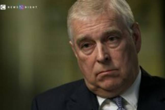 Prince Andrew during a 2019 Newsnight interview (BBC)