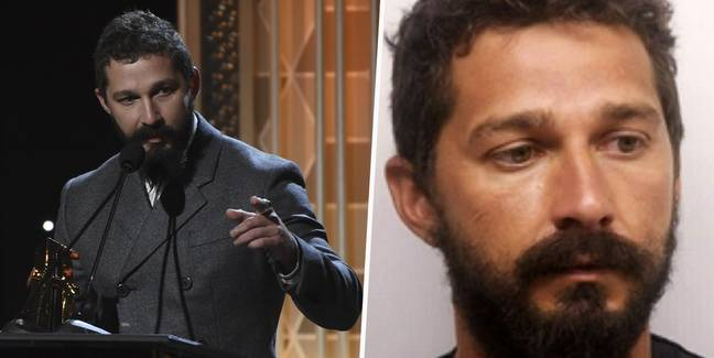 Shia LaBeouf thanks police officer who arrested him