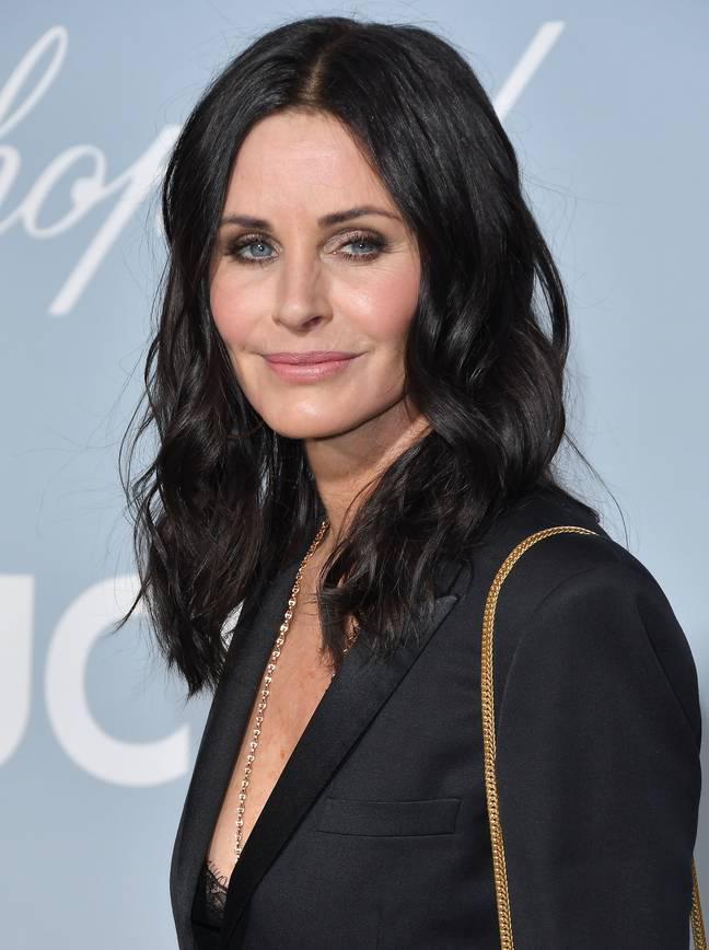 Courteney Cox arrives at the UCLA IoES