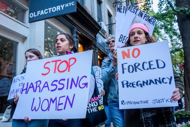Anti-abortion protests