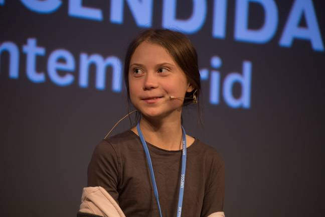 Greta Thunberg in Madrid, Spain for COP25