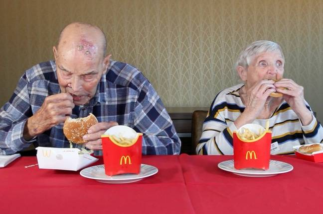 Pensioners Try Fast Food 3
