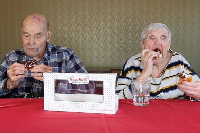 Pensioners Try Fast Food 5