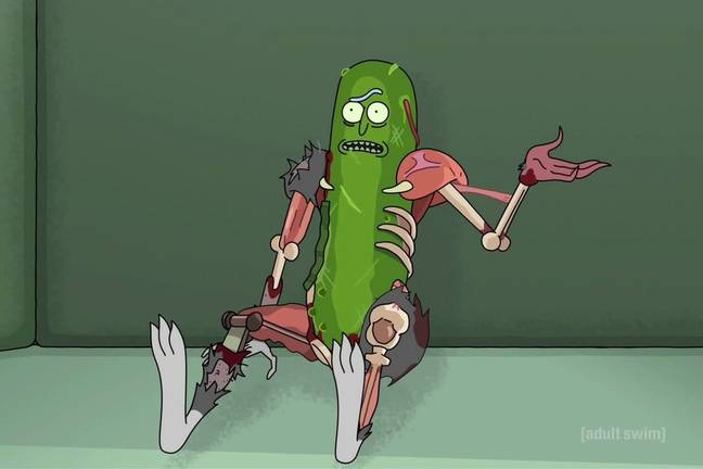 Pickle Rick Adult Swim 2