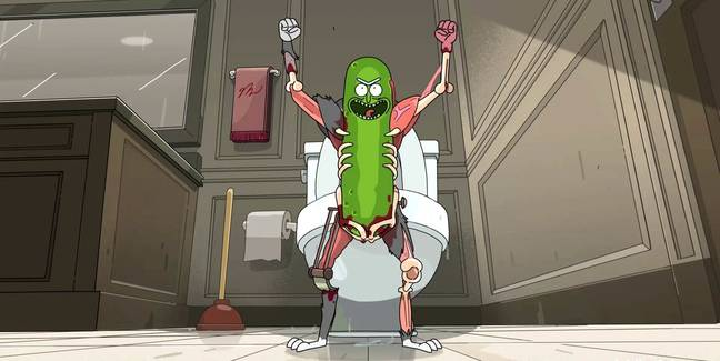 Pickle Rick Adult Swim