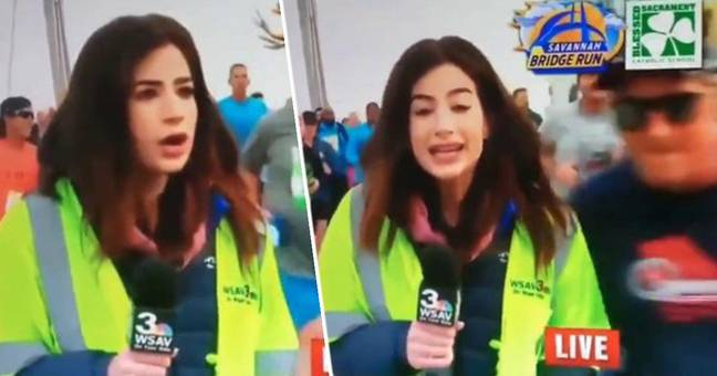 Reporter Responds Perfectly To Guy Smacking Her Bottom On Live TV