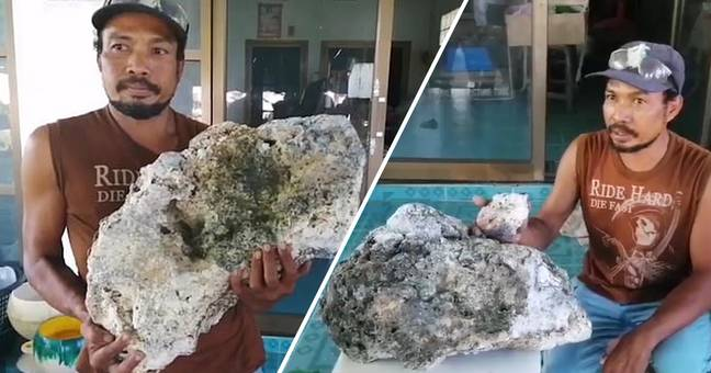Beach Scavenger Finds Whale Vomit Worth £500,000 Searching For Recyclable Waste