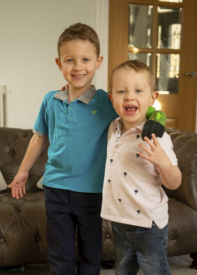 Boy, 5, Can Finally Hug Brother After Getting Hulk Prosthetic Arm