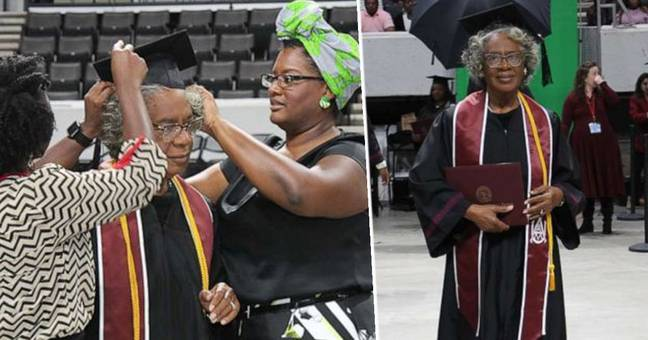 80-Year-Old Woman Makes History As University's Oldest Graduate