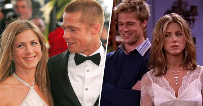Brad Pitt Goes To Jennifer Aniston's Christmas Party 15 Years After Split