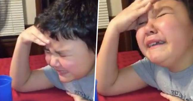 Boy, 9, Breaks Down As His 3-Year Cancer Treatment Ends
