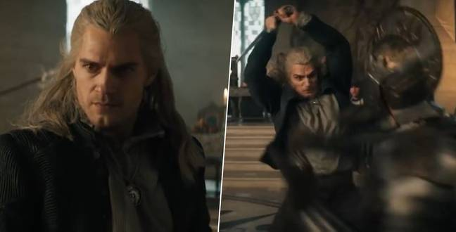 Henry Cavill Shares First Look At Amazing Witcher Fight Scene