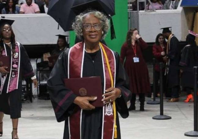 80-year-old becomes university's oldest graduate