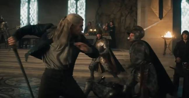 witcher fight