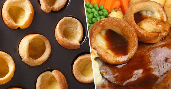 Brits Divided Over Eating Yorkshire Puddings With Christmas Dinner