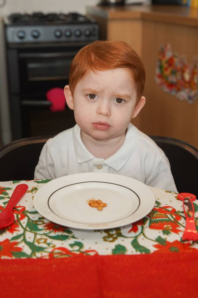 Boy Can't Eat More Than Five Baked Beans